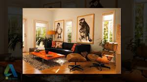 daily decor brown and orange living room youtube