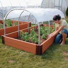 raised garden beds for sale a how to on using pvc supports over your raised beds cover them