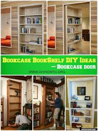 bookcase bookshelf diy ideas free plan