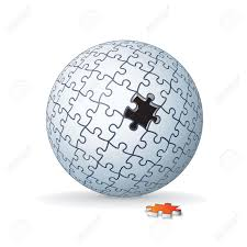 jigsaw puzzle globe sphere stock photo picture and royalty free