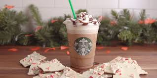 starbucks thanksgiving day here u0027s exactly how to order starbucks peppermint bark frappuccino