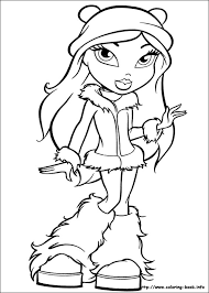 Coloring Bratz To Colour In In Conjunction With Bratz Princess Pages To Colour In