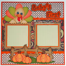 baby s thanksgiving layout