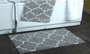 clearance moroccan trellis cotton bath rug set 2 pack groupon