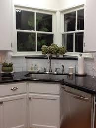 Corner Sink Small Kitchen Design Pictures Remodel Decor And - Kitchen design with corner sink