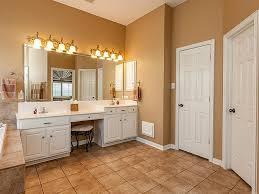 bathroom double bathroom vanity with makeup table frameless