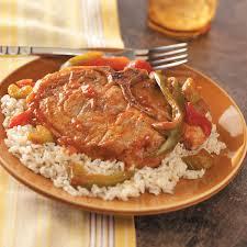tangy pork chops recipe taste of home