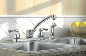 faucet moen kitchen faucet buying guide moen two handle kitchen