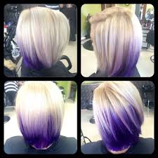 purple and blonde by lexie at fringe salon lennon mi color