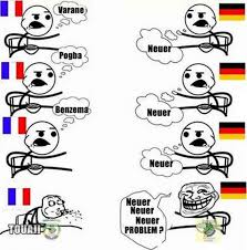Meme France - france vs germany fansfoot you ll never laugh alone