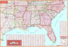 southeast us road map southeast united states wall map page free maps globes geo