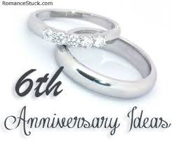 sixth wedding anniversary gift best 25 6 year anniversary ideas on anniversary gifts