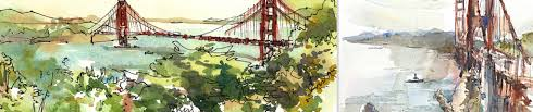 happy 79th birthday golden gate bridge sketch away travels