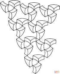 op art coloring pages 389825