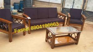 Branded Teak Wood Sofa Set Unqie Design Only Three Seater - Teak wood sofa set designs
