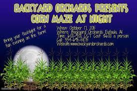 Backyard Treasures Dothan Al 10 Awesome Corn Mazes To Do In Alabama This Fall