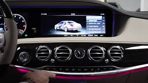 2018 s class ambient lighting u0026 climate control youtube