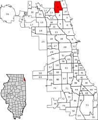 40th ward chicago map west ridge chicago