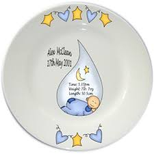 birth plates personalized flair original personalised baby birth plates diy