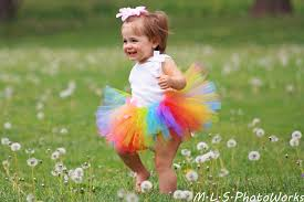 sweet candy rainbow tutu baby 3 6 9 12 18 24 months 2t