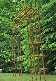 steel garden trellises metal garden trellis with tree of life