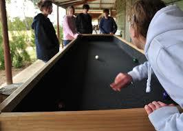 indoor carpet ball table activities