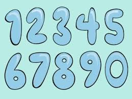 7 best images of printable bubble numbers 1 10 how to draw
