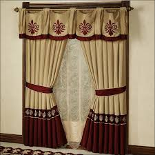 Jc Penneys Kitchen Curtains by Kitchen Jcpenney Pinch Pleat Drapes Valance Curtains Red And