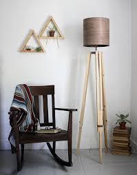 Tripod Lamps Floor Diy Tripod Floor Lamp The Merrythought