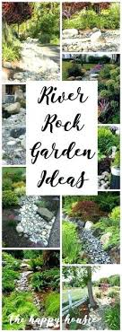 Rock Garden Beds River Rock Garden Bed Nightcore Club
