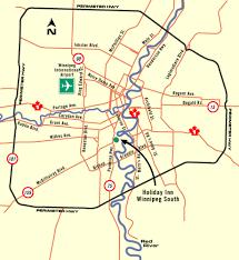 winnipeg map inn winnipeg south maps