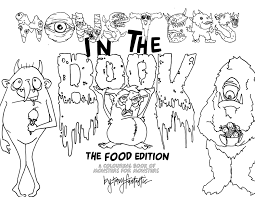 coloring book monster kids comingsoon net