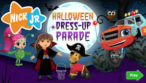 halloween dress up parade full new nick jr hd game episode youtube