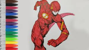 the flash run ultimate speed coloring pages the flash sailany