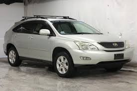 harrier lexus 2005 2004 toyota harrier checklist