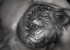 tattoo tribal chest lion tribal chest tattoodenenasvalencia