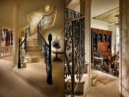 interior classic architectural staircase interior design with