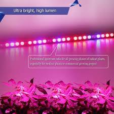 12v dc led grow lights hydroponics king led grow light 12v dc dual spectrum veg bloom