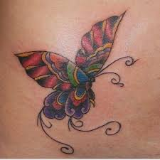 21 best colorful butterfly tattoo designs images on pinterest