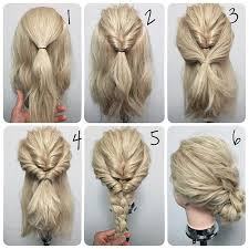 curly hair updos step by step 毎朝可愛くなれる rioさんに学ぶ簡単くるりんぱアレンジ easy hair