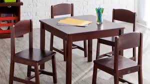 Folding Table And Chair Set For Toddlers Dining Set Childs Wooden Table Kidkraft Farmhouse Table And