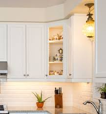 white shaker corner kitchen cabinet 20 smart corner cabinet ideas for every kitchen
