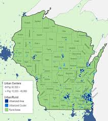 Wisconsin Counties Map by Putting Rural Wisconsin On The Map Wiscontext