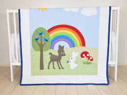 Baby Boys Crib Bedding by Rainbow Baby Blanket Baby Boy Or Crib Bedding Forest