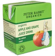 rabbit organics rabbit organic apple grape juice 150ml rabbit