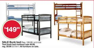 Black Friday Ads  Essential Home Belmont Bunk Bed  Black - Essential home bunk bed