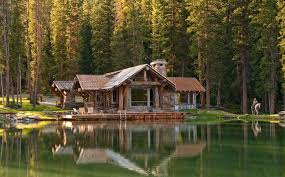 Log Home Bedrooms Idyllic Lakefront Country House Beautiful Log Homes Designs