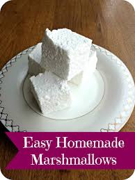 super easy homemade marshmallow recipe no corn syrup no candy