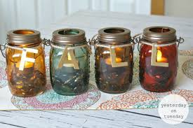 Candles Home Decor Fall Mason Jar Candles Yesterday On Tuesday