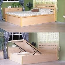 Easy To Build Platform Bed With Storage by Diy Platform Bed With Shelves Storage Decorations